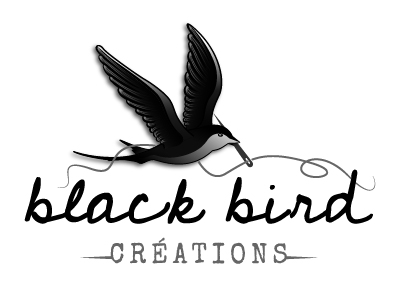 logo valeurs de gris black bird créations