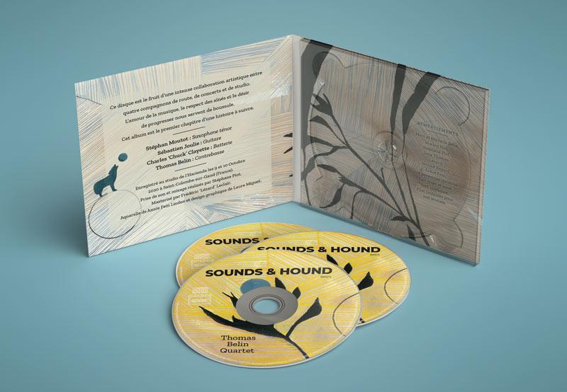 Pochette CD Thomas Belin Quartet