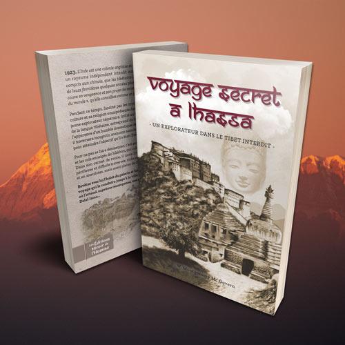 Couverture livre Voyage secret à Lhassa